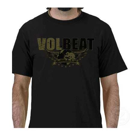 volbeat t shirt band t shirts. Black Bedroom Furniture Sets. Home Design Ideas
